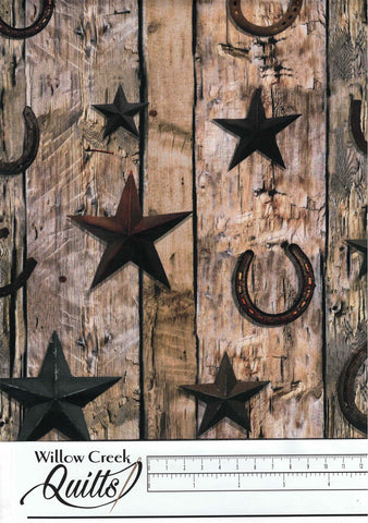 Sun Up To Sun Down - Rust Wood Planks - S4778H-39