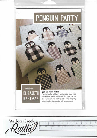 Penguin Party pattern - EH 041