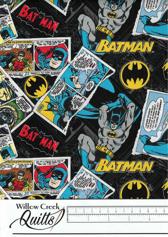 Batman 80th Anniversary - Collage - Black - 23200119