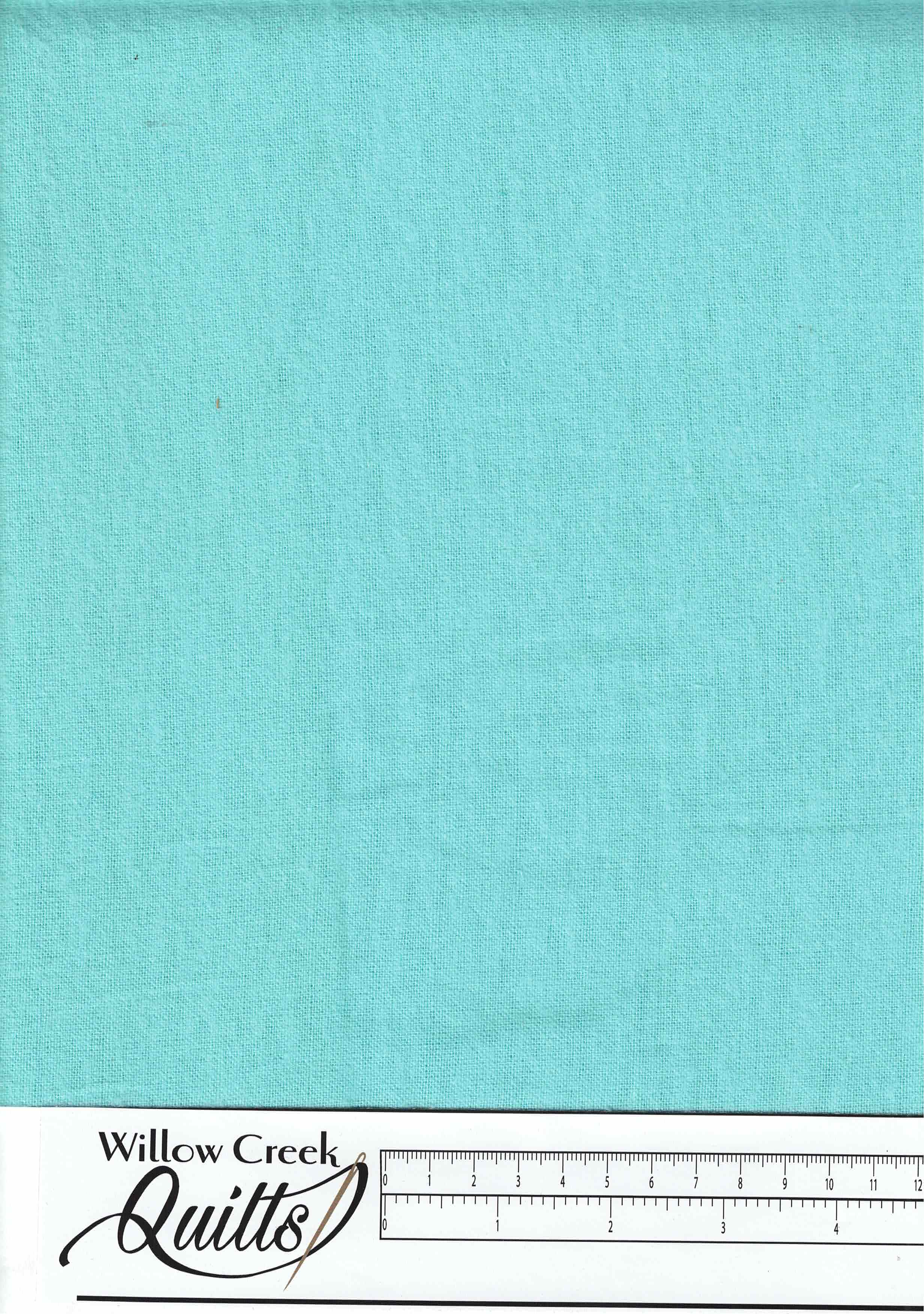 "Aqua Solid Flannel - 108"" wide - S601 - RN-17948"