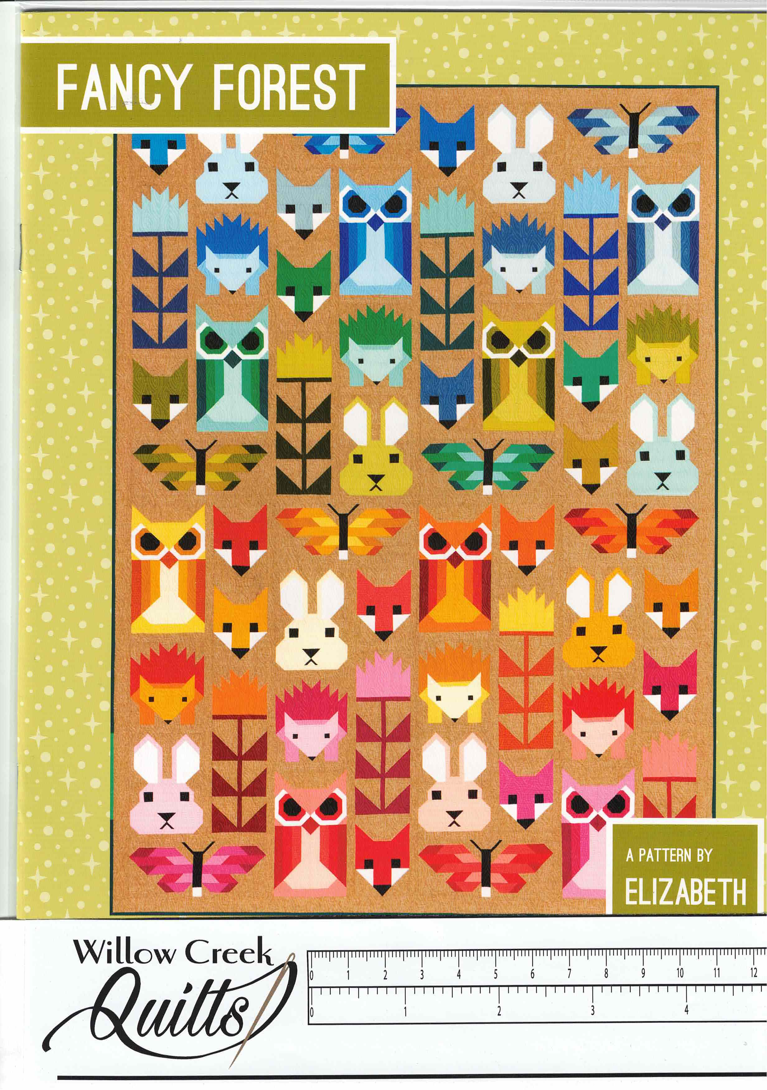 Forest Fancy pattern - EH-023