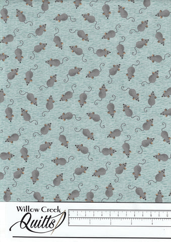Fat Cat - Mice - Turquoise - 52271-4