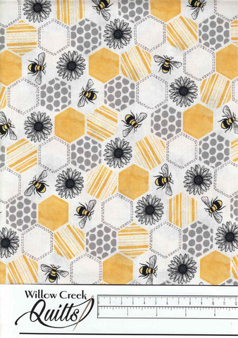 Queenbee - Buzz - Yellow - DC9155-D
