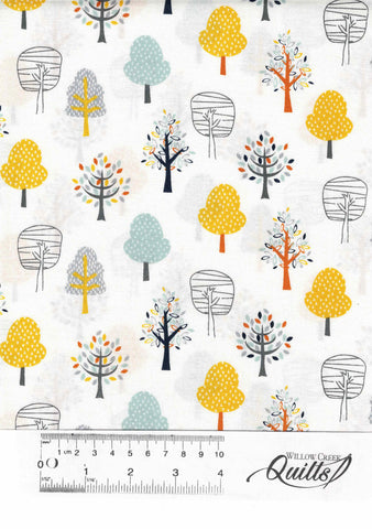 Forest Friends 4 - Trees White - 89840 - 41509591
