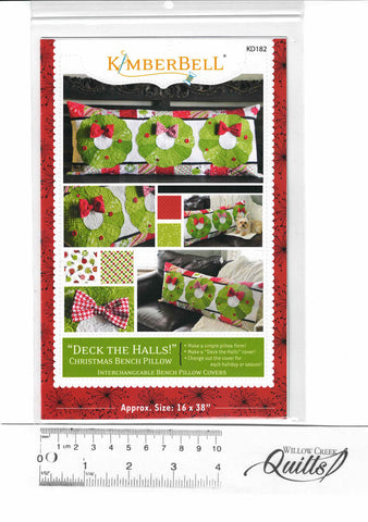Deck the Halls! Bench Pillow - KD182