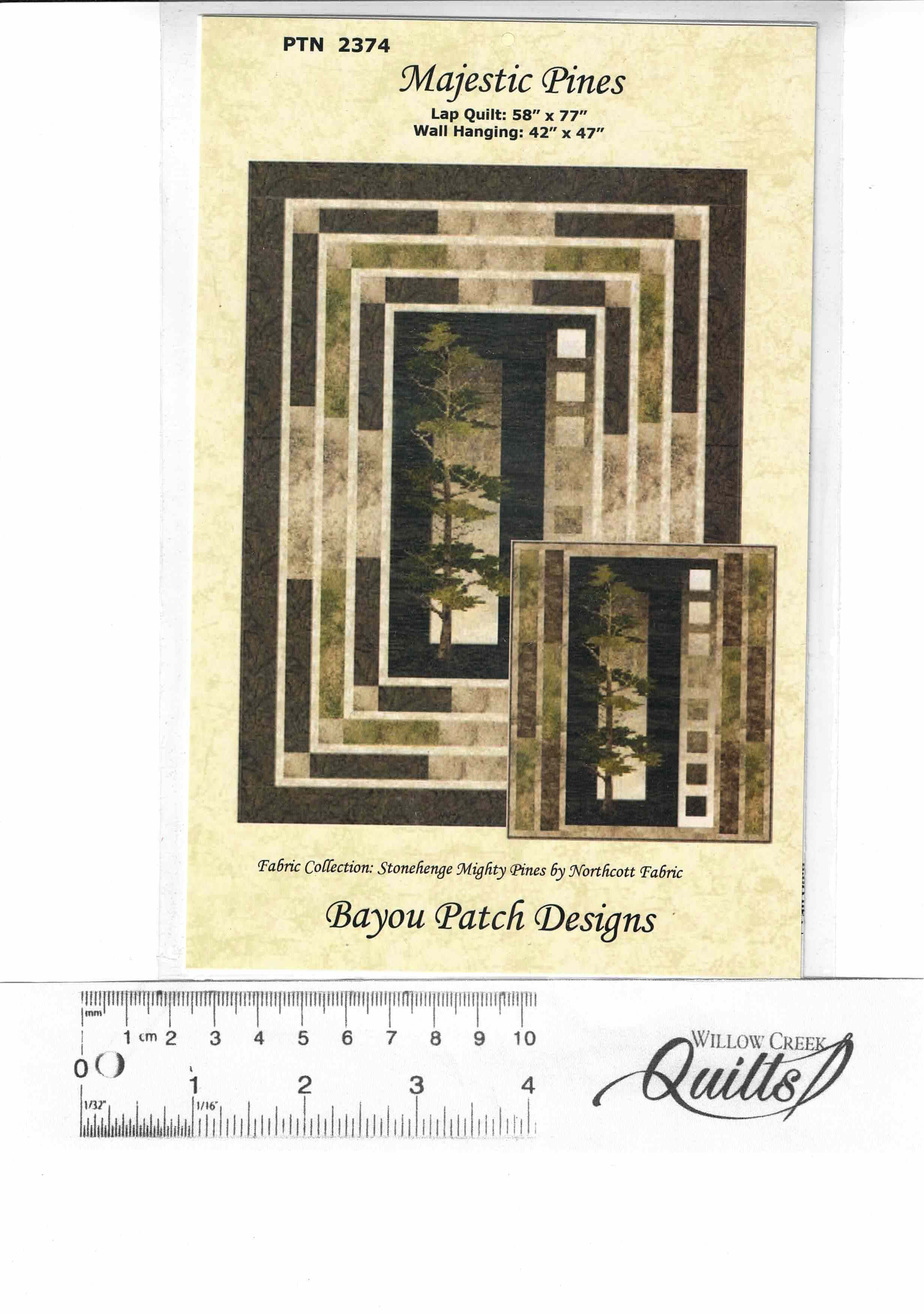 Majestic Pines pattern - PTN 2374