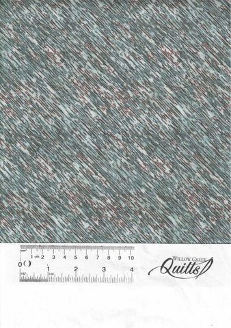 Misty Mountain - Grayed Turquoise - F22981-61 - Flannel