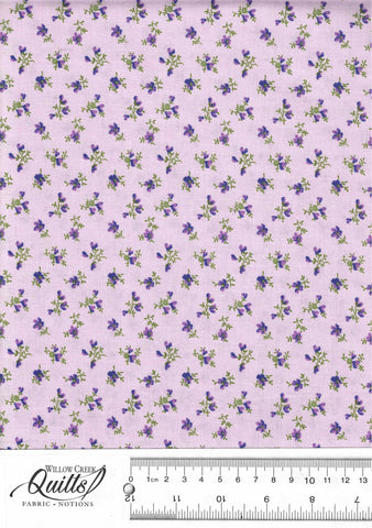 Chelsea - Mini Flower Toss - Red Purple - 23061-83