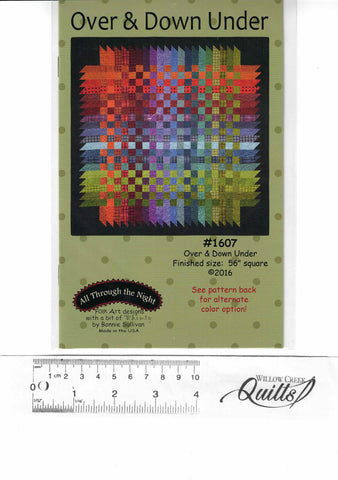 Over & Down Under pattern - ANT 1607