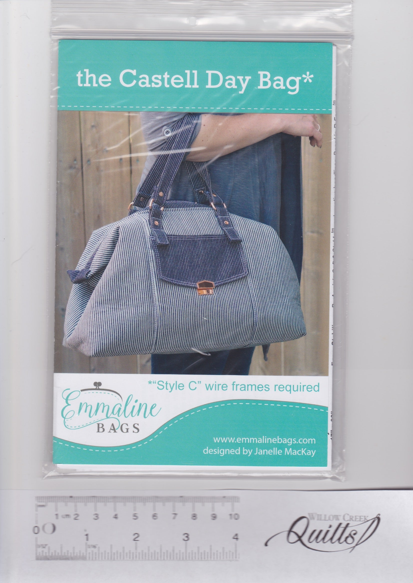 The Castell Day Bag Pattern - Emmaline Bags