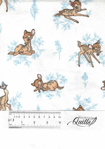 Disney Flannel - Bambi - Blue - 85040101B