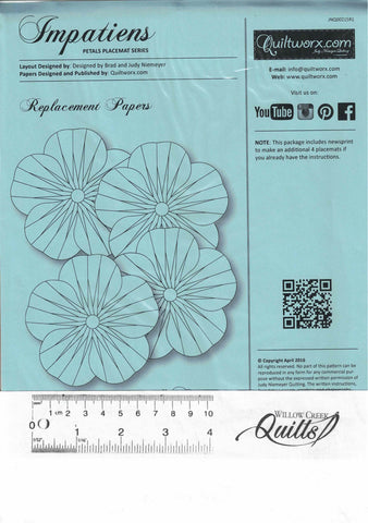 Impatiens - Replacement papers - JNQ00215R1