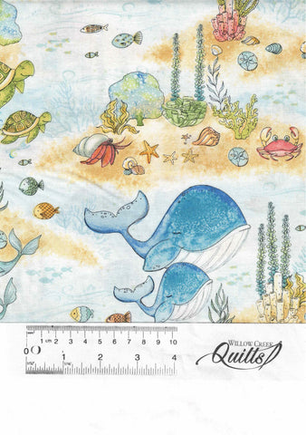 Water Wishes - Light Blue Scenic - 27564-147