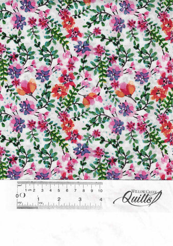 Beautiful Ride Flowers - White Multi 1 - DX-0082-8C