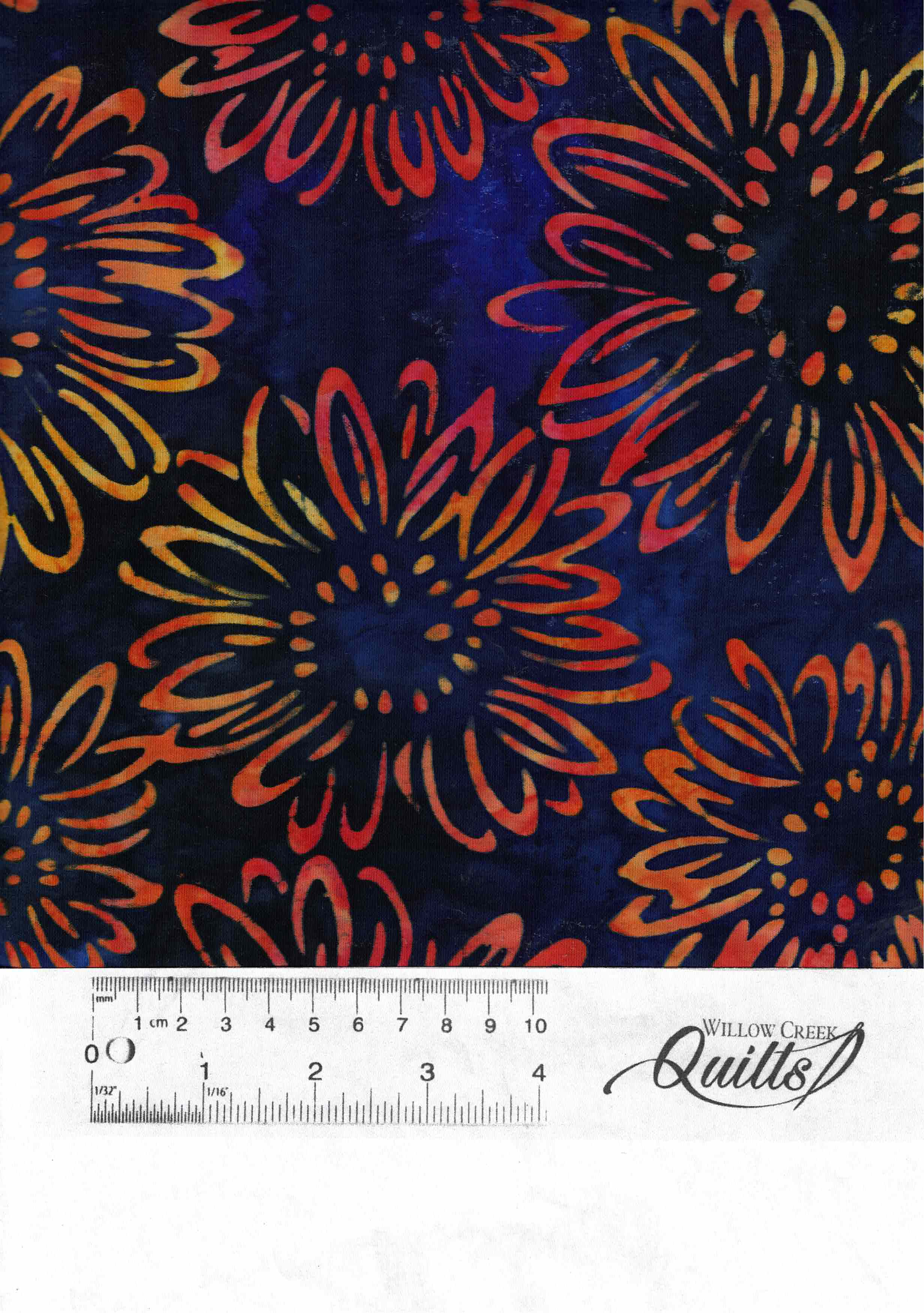 Bright Blooms - Midnight - 17768-69