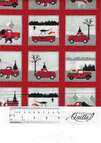 Holiday Road Trip - Red Small Block - 4684-89