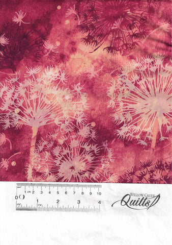 Make A Wish - Border Print - Raspberry Multi - DP23201-24