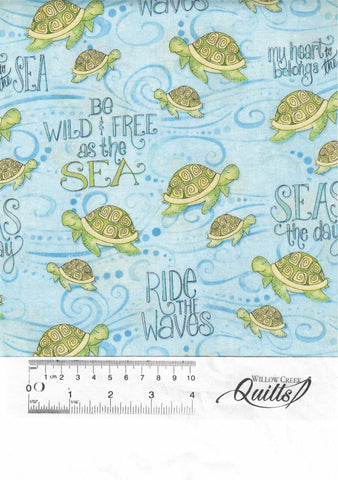 Water Wishes - Blue Sea Turtles - 27566-407