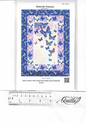 Butterfly Fantasia pattern - CJC-5258-1