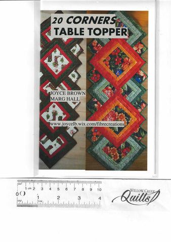 20 Corners Table Topper pattern - 23202135