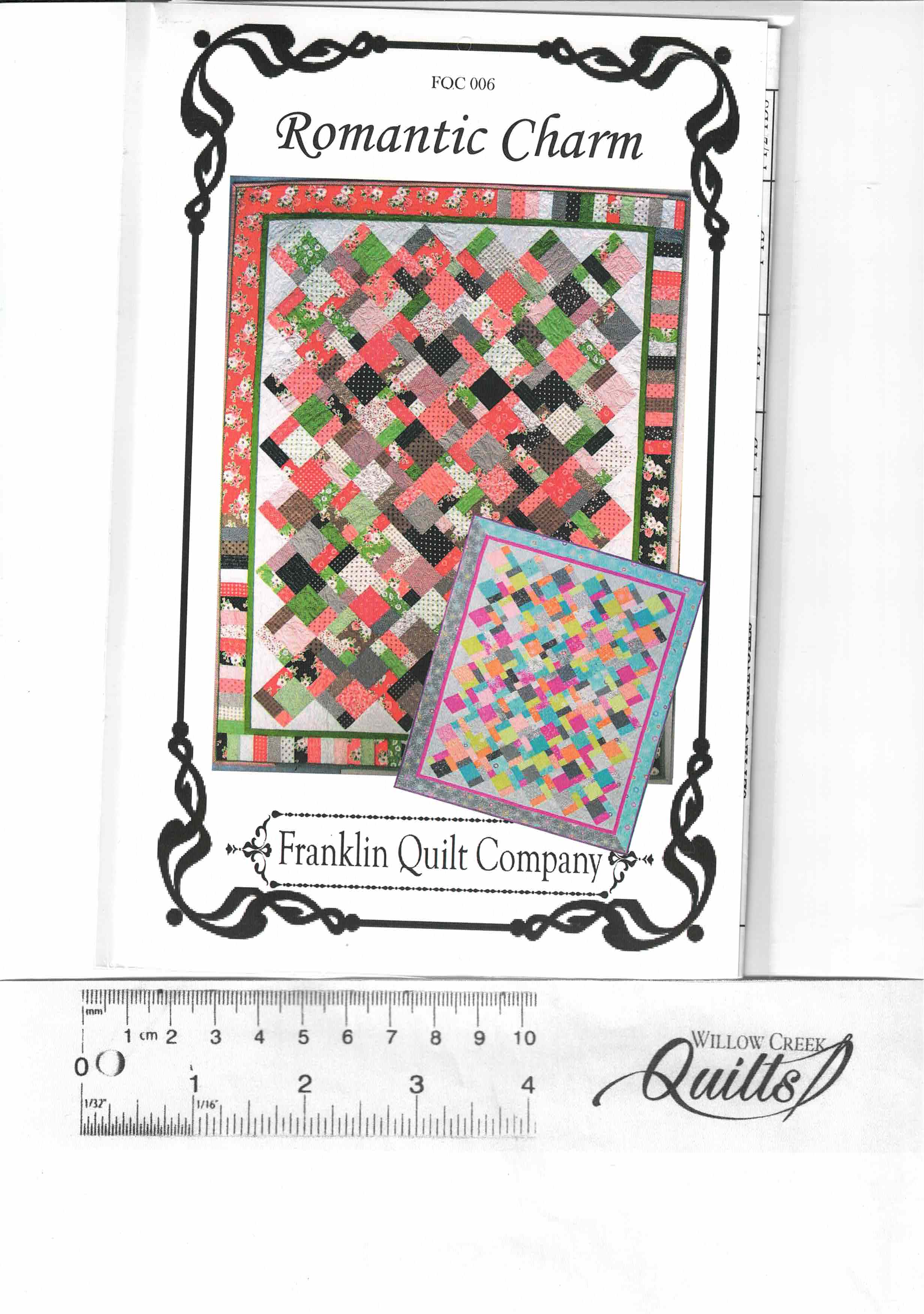 Romantic Charm pattern - FQC006