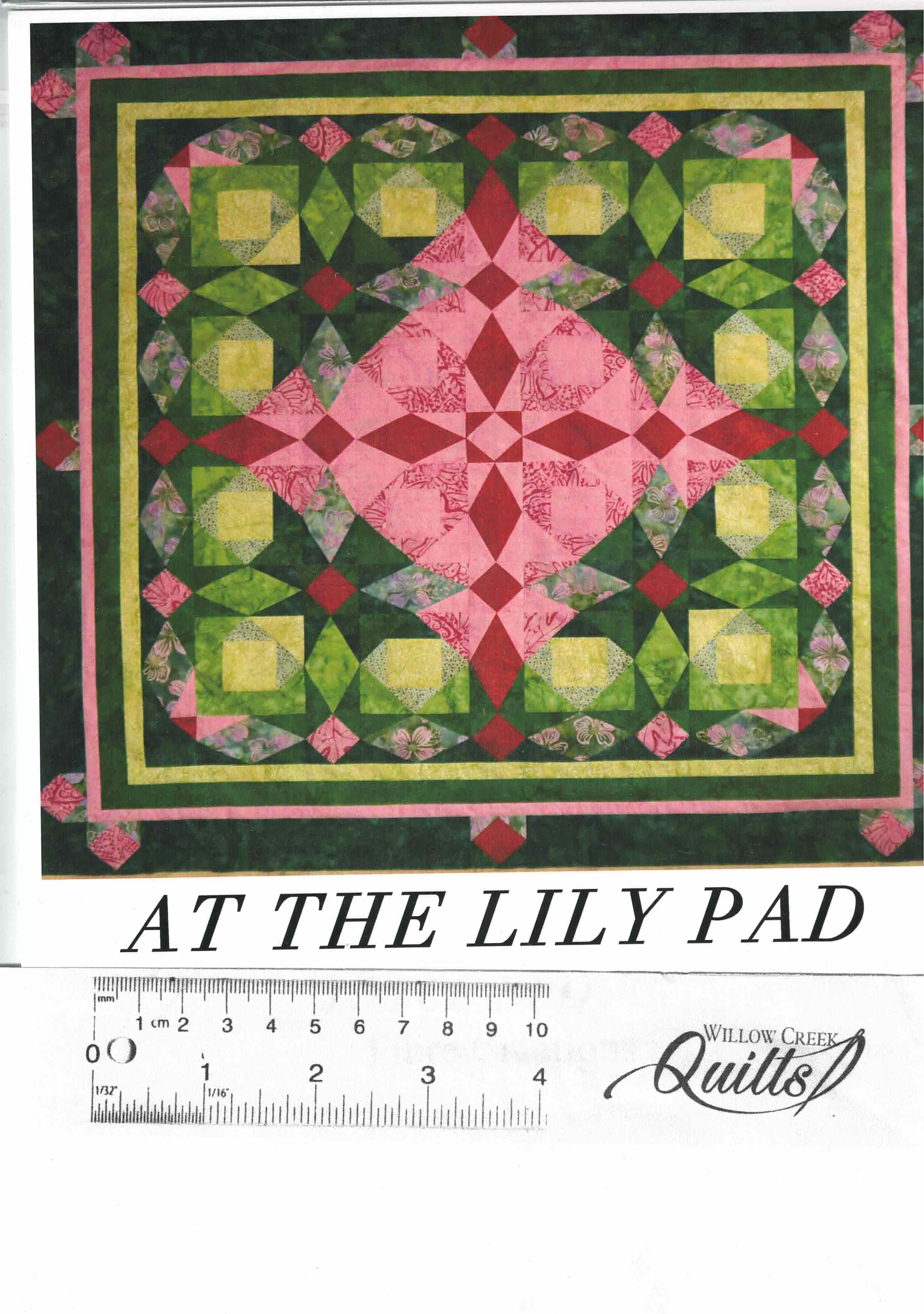 At The Lily Pad quilt pattern - 27068759