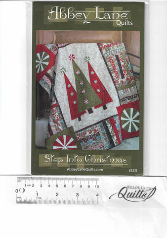 Step Into Christmas pattern - 123