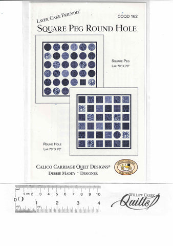 Square Peg Round Hole pattern - CCQD 162