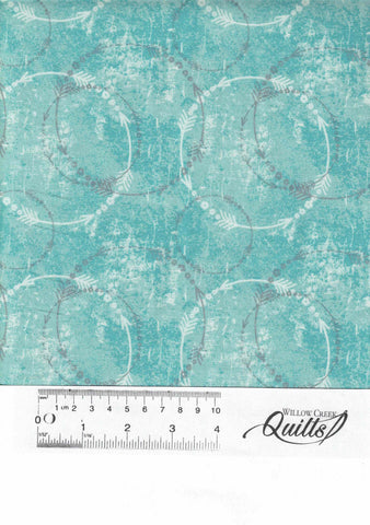 Roses & Arrows - Circle Arrow - 9100-72 - Teal