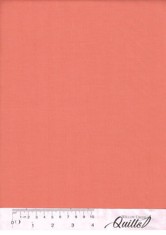 Bella Solids - Coral - 1000-147