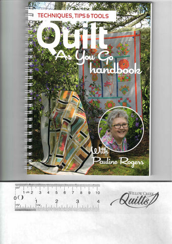 Quilt As You Go Handbook with Pauline Rogers - PQW1QAYG