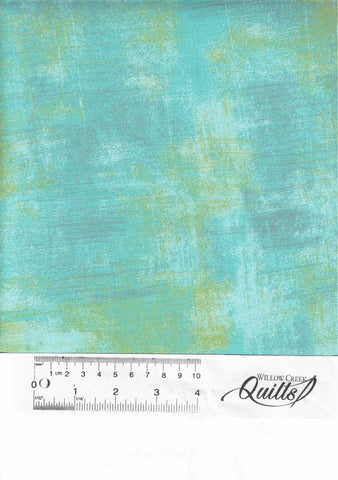 "Grunge Quilt Backs - 108"" wide - Pool - 511108-226"