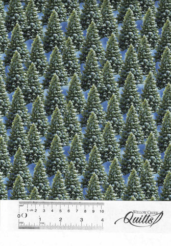 Let It Snow - Pine Trees - 9131 - 66 Green