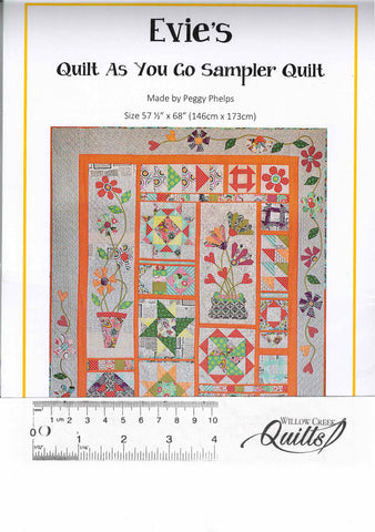 Evie's Quilt As You Go Sample Quilt pattern
