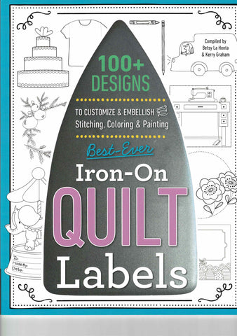 Best-Ever Iron-On Quilt Labels pattern book