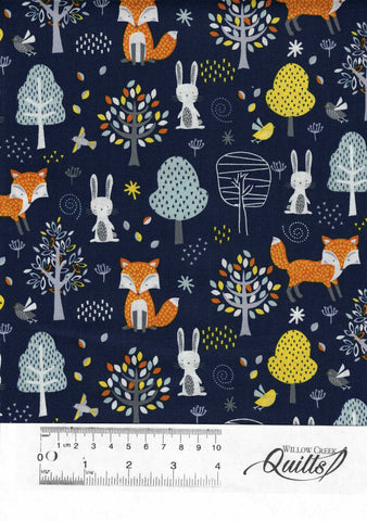 Forest Friends 1 - Animal Blue - 89840 - 33907415