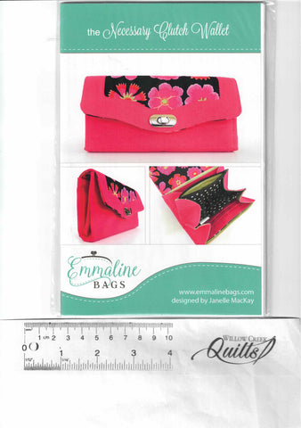 The Necessary Clutch pattern - Emmaline Bags - EMMB-101