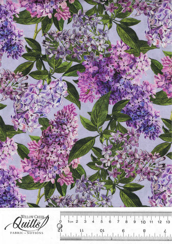 Chelsea - Lilacs - Blue Purple - DP23058-82
