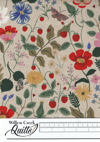 Strawberry Fields Canvas - Linen - 300970-008