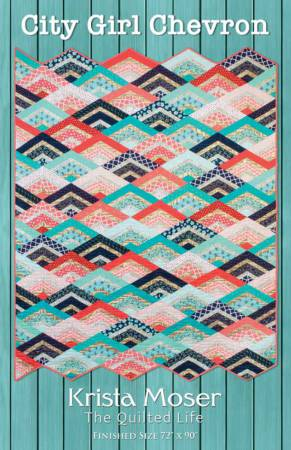 City Girl Chevron pattern - 10004