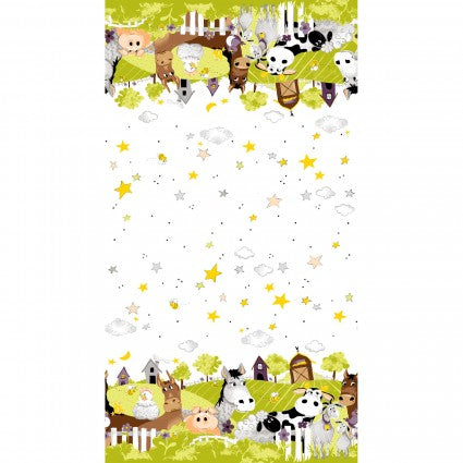 Barnyard Buddies - Lime Multi - SB20323-815