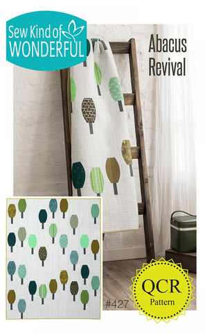 "Abacus Revival Pattern 50"" x 65"""