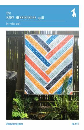 The Baby Herringbone Quilt pattern -VC 011