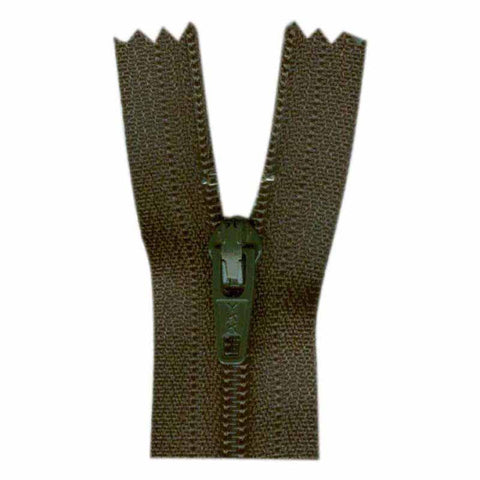 "23cm or 9"" - Closed End Zipper - Loden - 0023078"