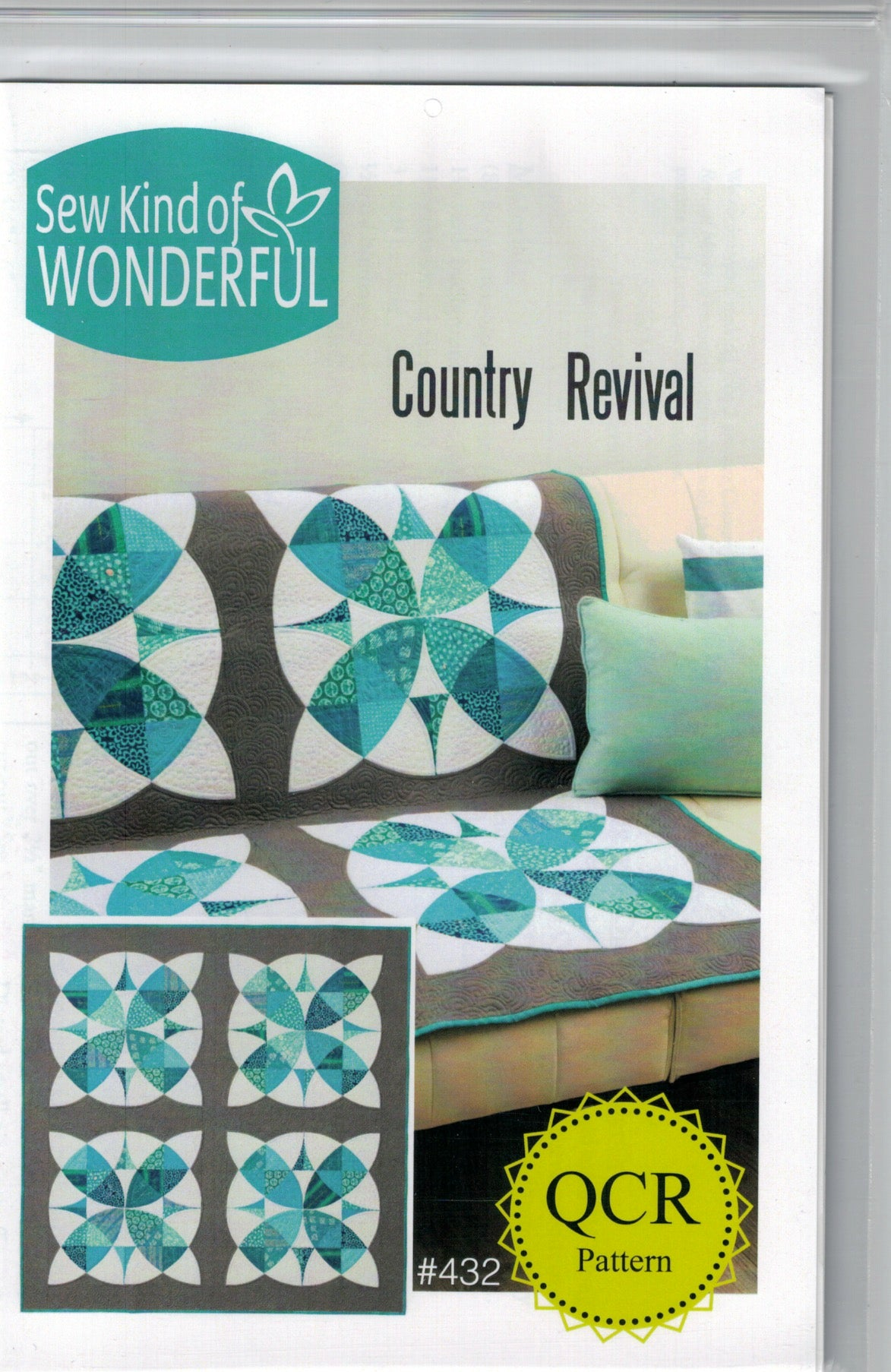 Country Revival QCR Pattern - #432