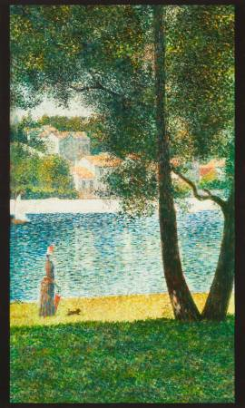 "Seurat panel - Nature - SRKD-18472-268 - 24""(60cm)"