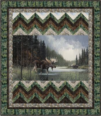 Moose Crossing pattern - PTN 2514 - GQ-108