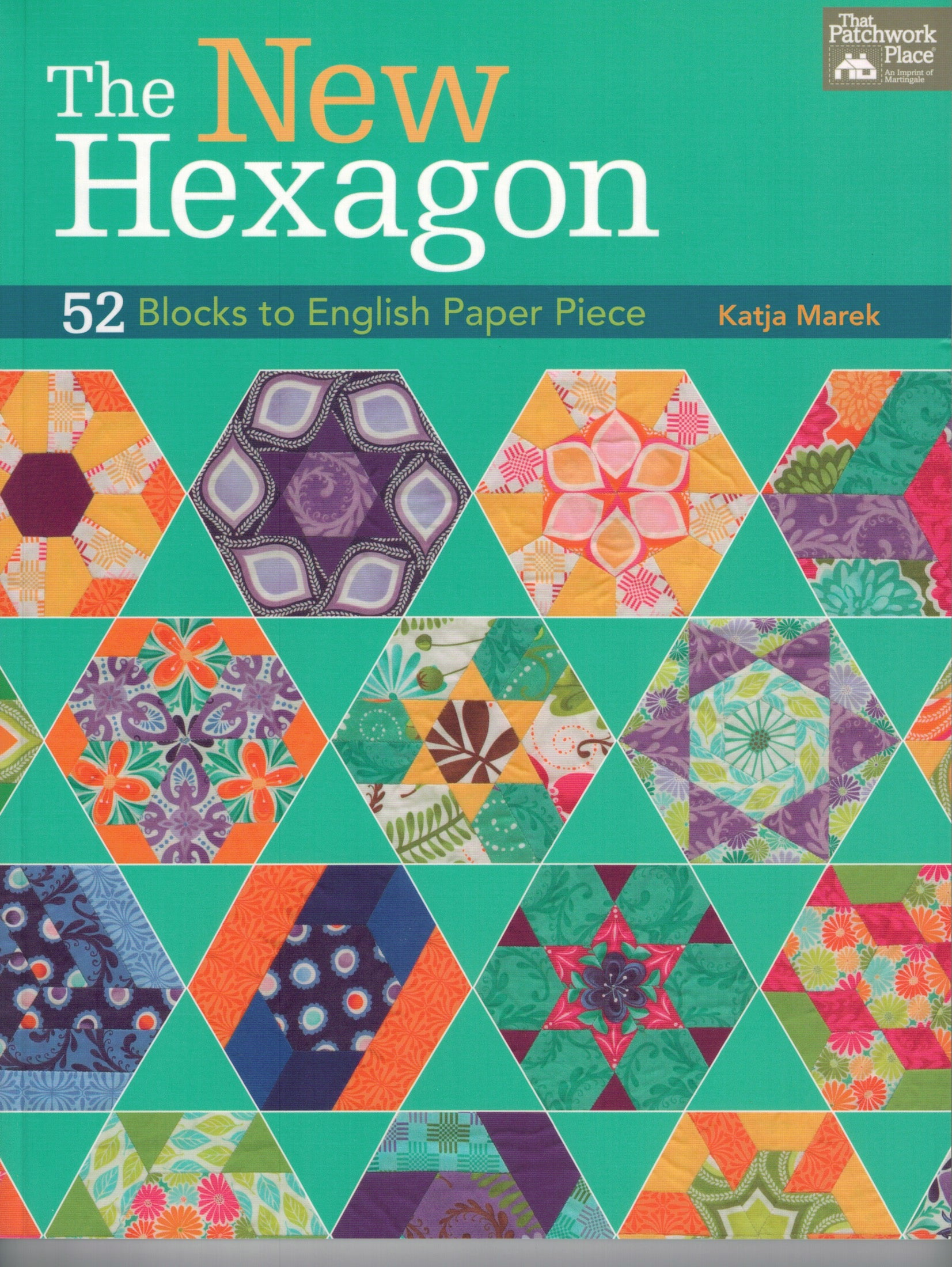 The New Hexagon - 52 Blocks to English Paper Piece - B1235T