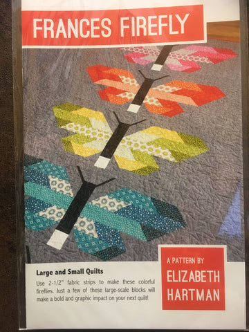 Frances Firefly Pattern  Quilt Pattern