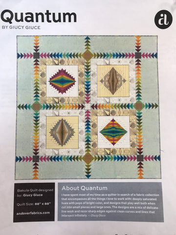 "Bakula - Quantum Quilt Kit - 88"" x 88"" - 1 LEFT"